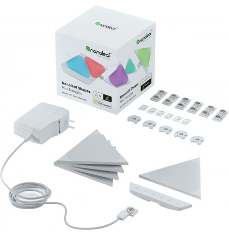 Nanoleaf Shapes Triangles Mini Starter Kit (5 šviesos)