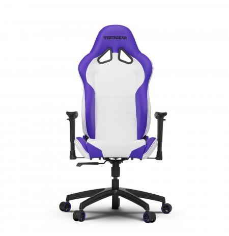 VERTAGEAR Racing series SL2000 balta-violetinė ergonominė kėdė