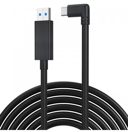 Kiwi Design QC-5 USB-C 16FT(5M) Link Cable for Oculus Quest 1 & 2 (USB 3.2)