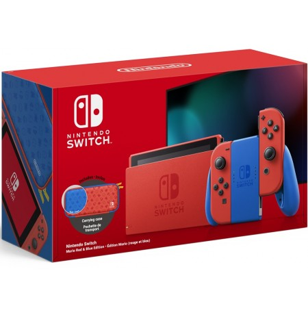 Nintendo Switch Mario Red & Blue Edition console (V2)