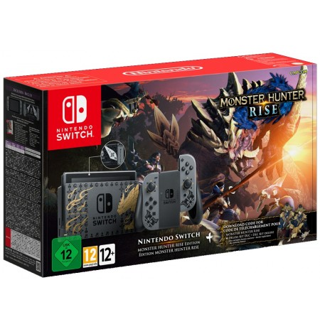 Nintendo Switch MONSTER HUNTER RISE Edition console