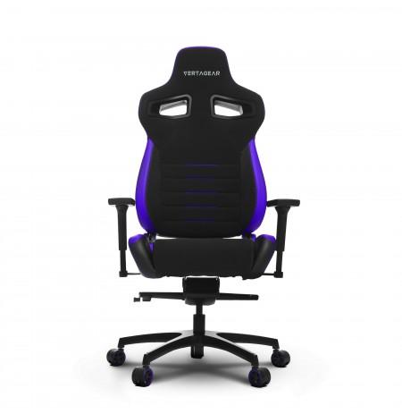 VERTAGEAR Racing series PL4500 juoda-violetinė ergonominė kėdė