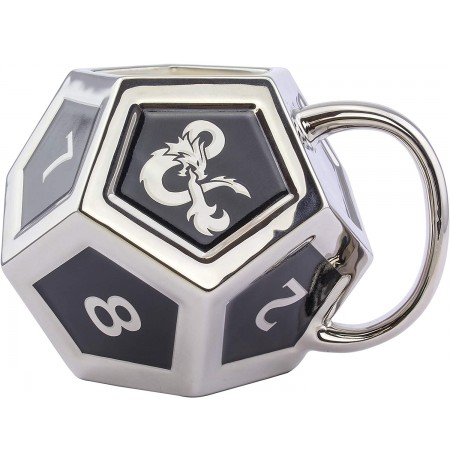 Dungeons & Dragons D12 3D Mug