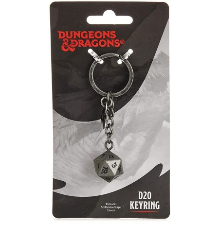 Dungeons & Dragons D12 raktų pakabukas