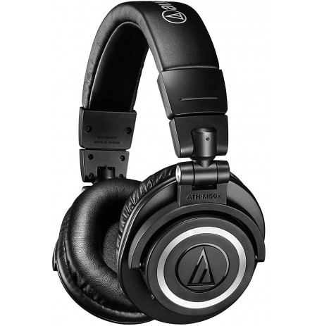 Audio Technica ATH-M50xBT belaidės ausinės (Black) | Bluetooth