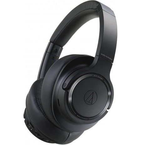 Audio Technica ATH-SR50BT belaidės ausinės (Black) | Bluetooth