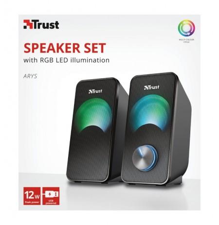 TRUST Arys RGB 2.0 Speaker Set