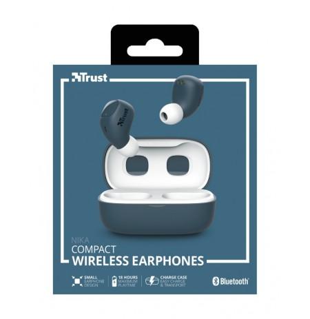 TRUST Nika mėlynos belaidės ausinės (Bluetooth)