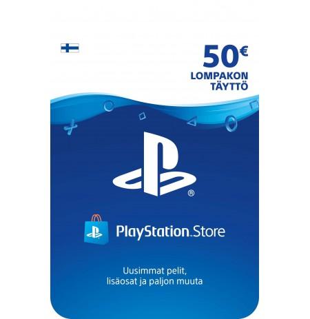Playstation Network Card 20 EUR (Suomija)
