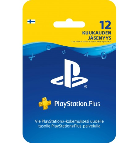 Playstation PLUS Card 90D (United Kingdom)