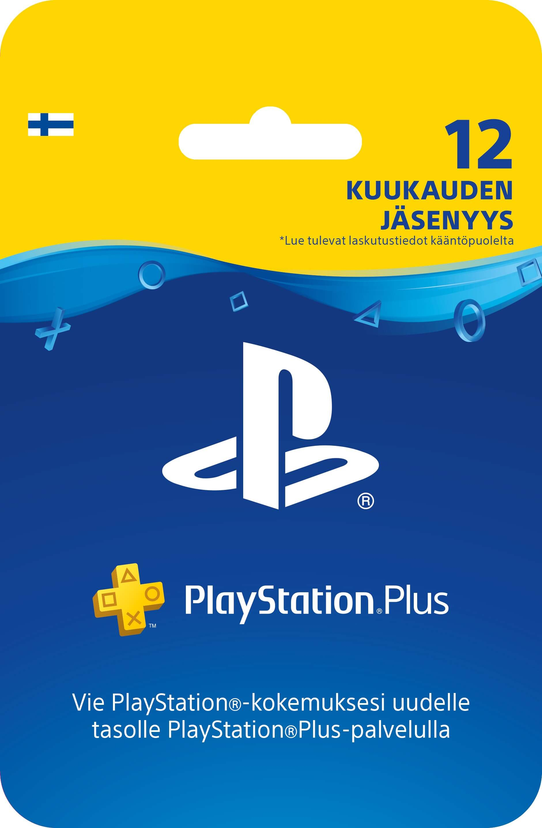 Playstation PLUS Card 365D (Suomija)
