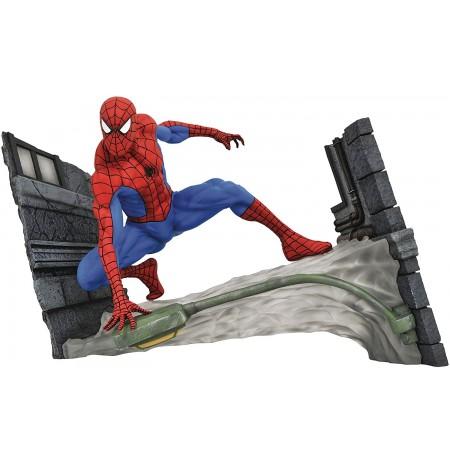 MARVEL Gallery The Spectacular Spider-Man Webbing statula   18 cm