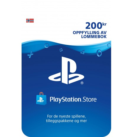 Playstation Network Card 200 NOK (Norvegija)