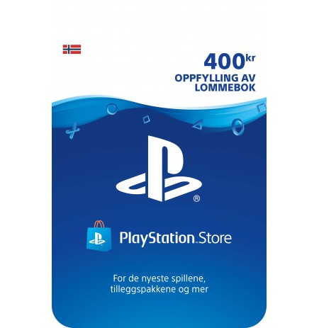 Playstation Network Card 400 NOK (Norvegija)