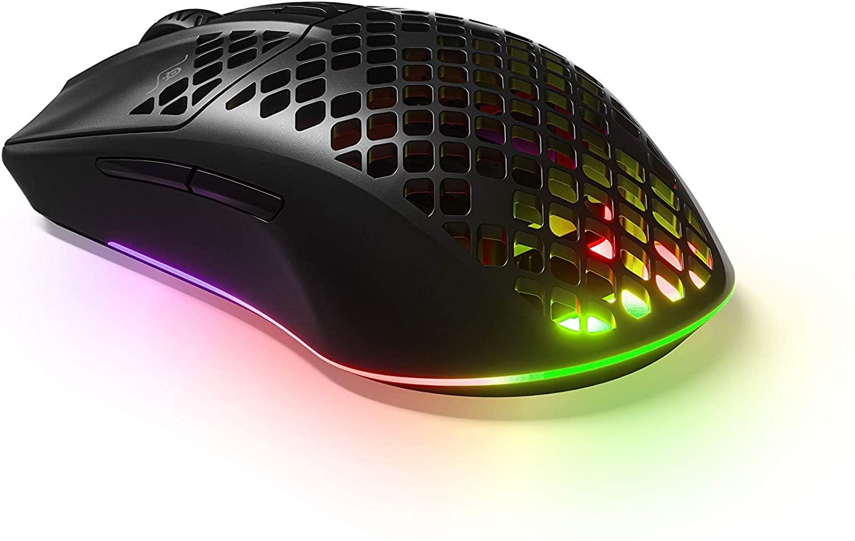 SteelSeries Aerox 3 belaidė pelė | 18000 CPI (juoda)