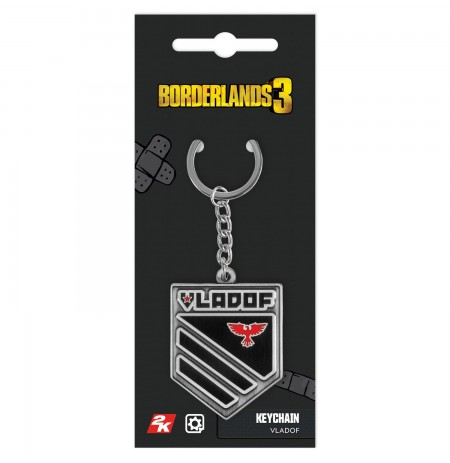 "Borderlands 3 ""Vladof"" keychain"