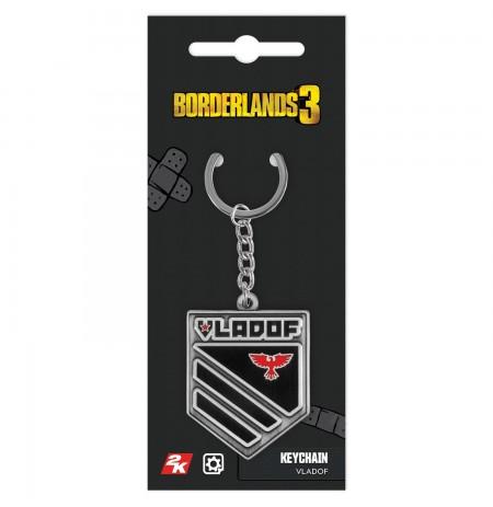 """Borderlands 3 """"Vladof"""" raktų pakabukas"""