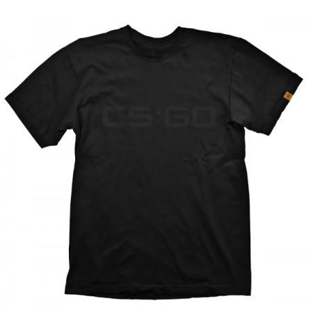 "Counter-Strike Global Offensive ""Black on Black"" marškinėliai * XXL Dydis"