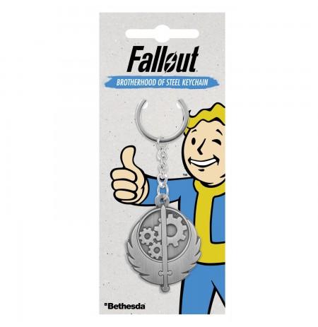 """Fallout """"Brotherhood of Steel"""" raktų pakabukas"""