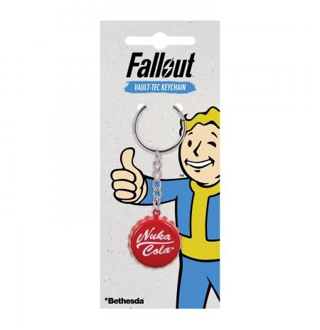 """Fallout """"NUKA COLA Bottlecap"""" raktų pakabukas"""