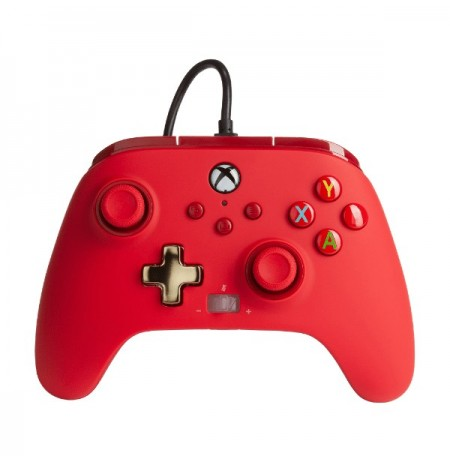 PowerA Enhanced Wired Controller For Xbox Series X|S - Red