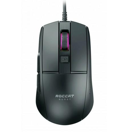 ROCCAT Burst Core juoda optinė laidinė žaidimų pelė