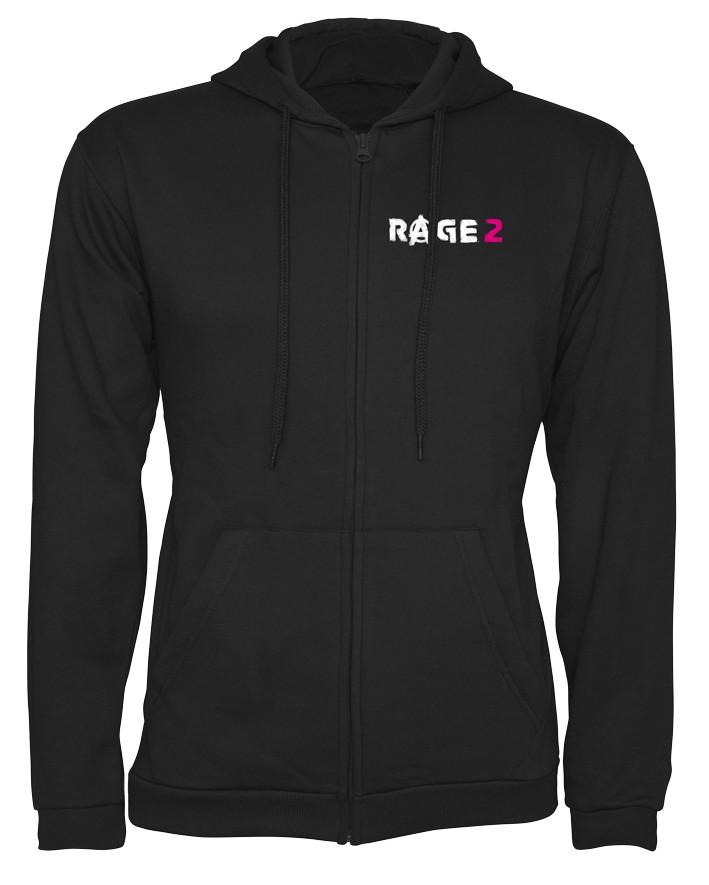 """Rage 2 """"Anarchy"""" džemperis su užtrauktuku   S Dydis"""
