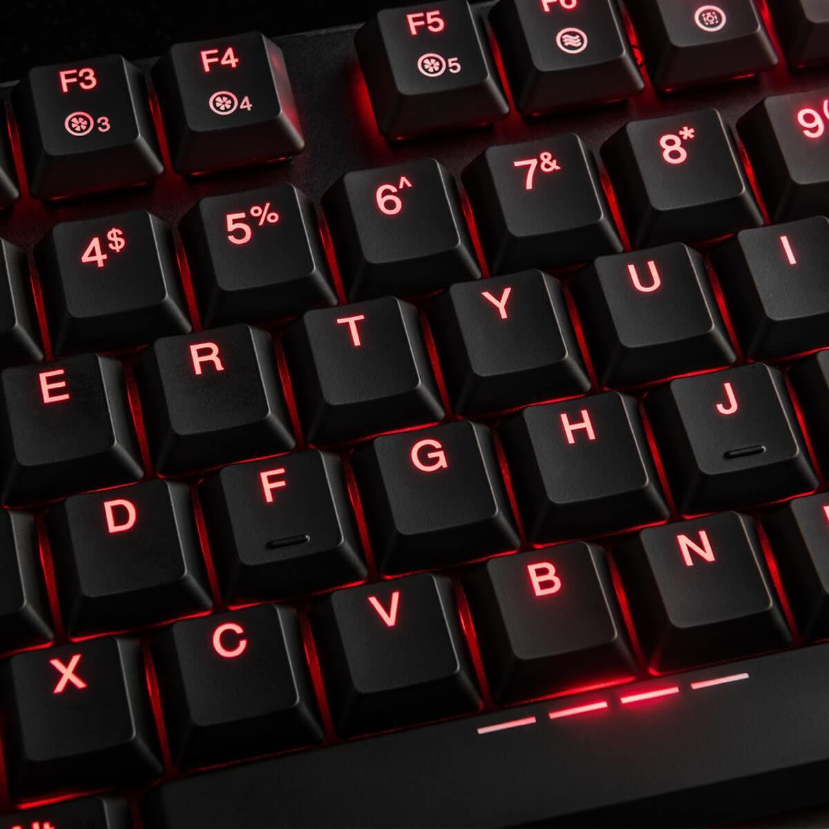 MODECOM VOLCANO BLADE žaidimų klaviatūra BLUE US