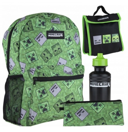 Minecraft Backpack + Accessories