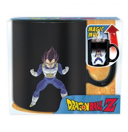 """Dragon Ball """"VEGETA"""" reaguojantis į karštį puodelis"""