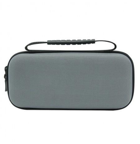 Nintendo Switch Lite Nylon carry bag with strap (black/grey)