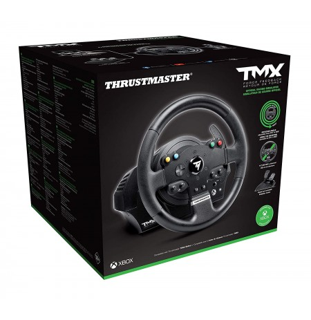 Thrustmaster Force Feedback TMX Pro steering wheel + T3PA pedals   XONE, XSX, PC