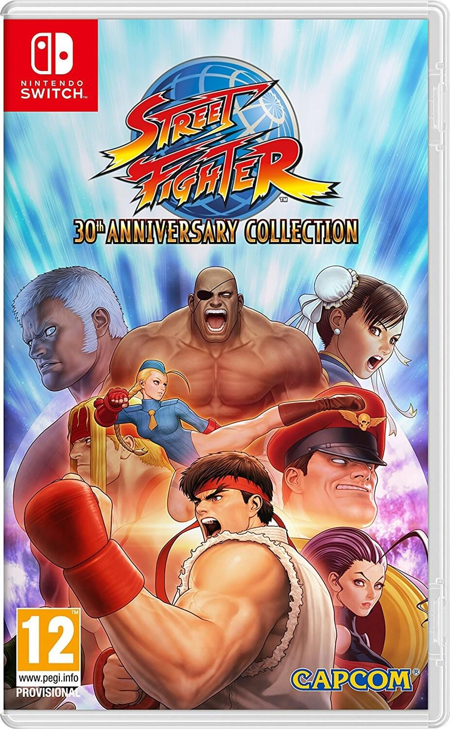 Street Fighter 30th Anniversary Collection XBOX