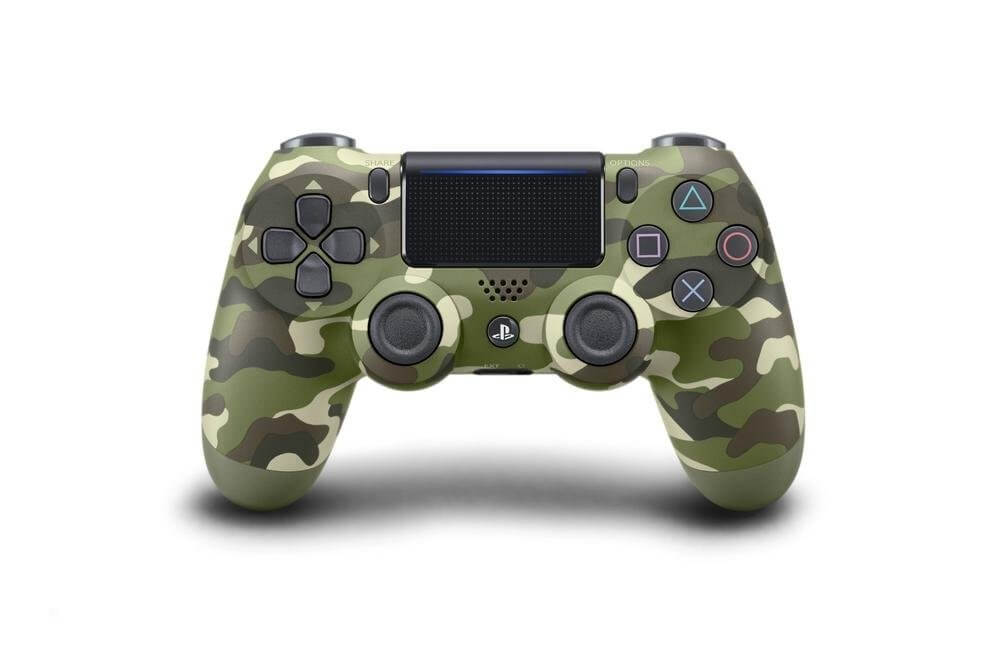 Sony PlayStation DualShock 4 V2 Controller - GREEN CAMO