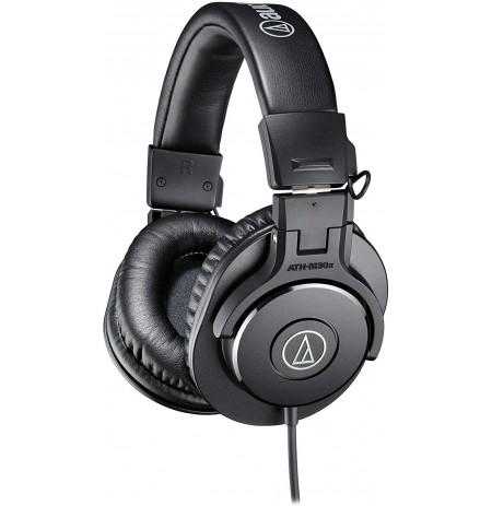 Audio Technica ATH-M30X wired headphones (Black) 3.5mm / 4.4mm