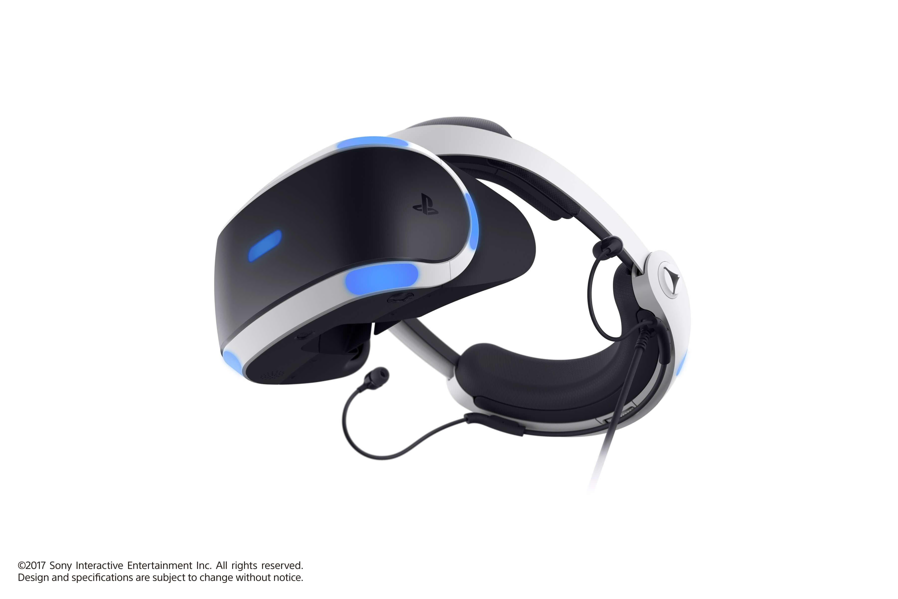 PlayStation VR + CAMERA + VR Worlds game