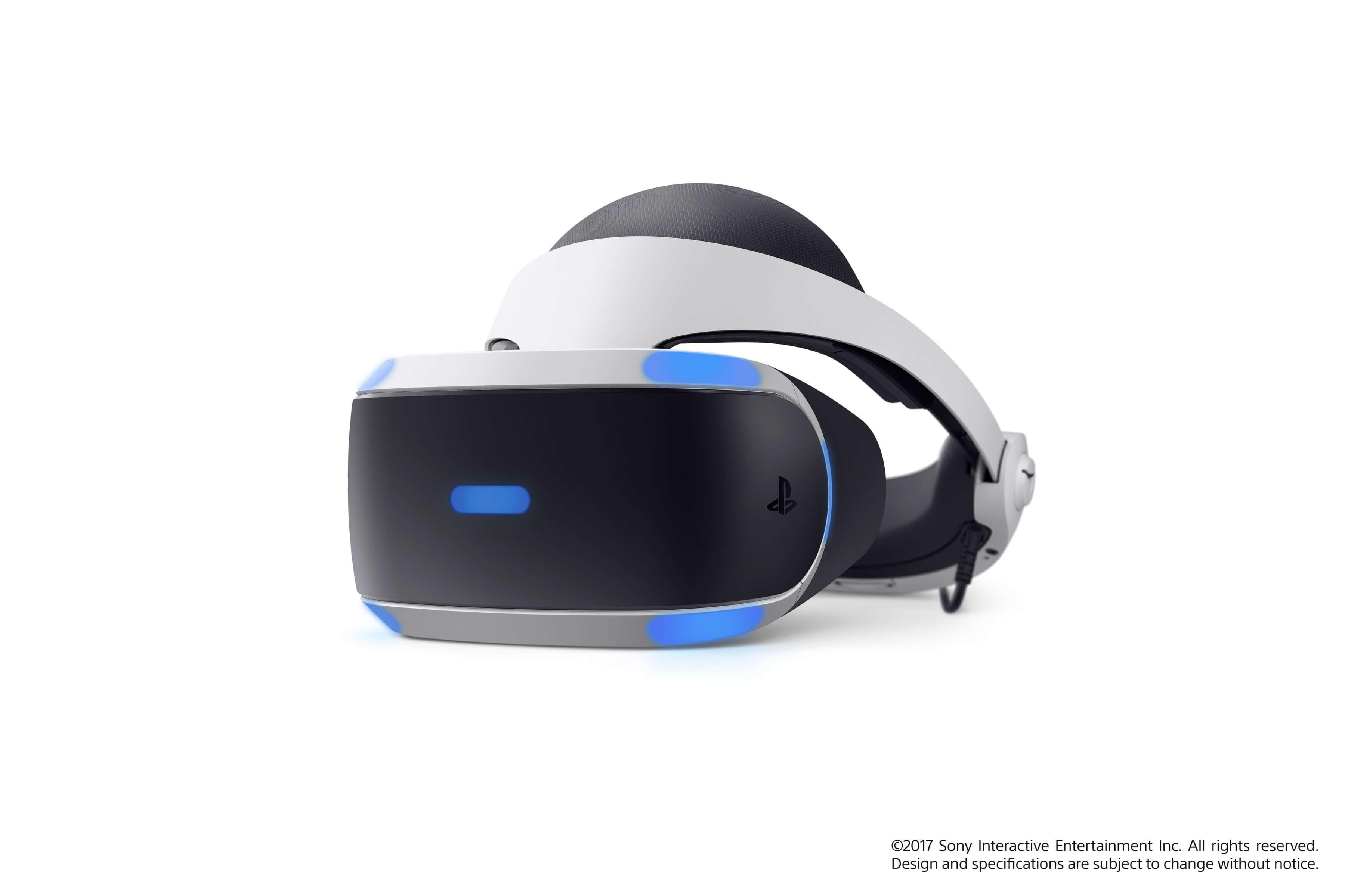 Virtualios realybės akiniai Sony PlayStation VR su PS4 kamera ir žaidimu VR Worlds