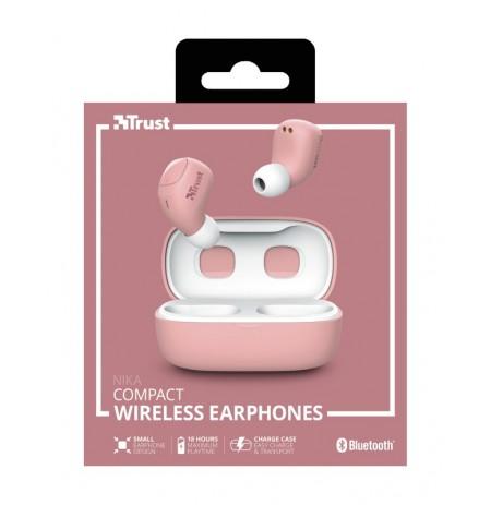 TRUST Nika rožinės belaidės ausinės (Bluetooth)