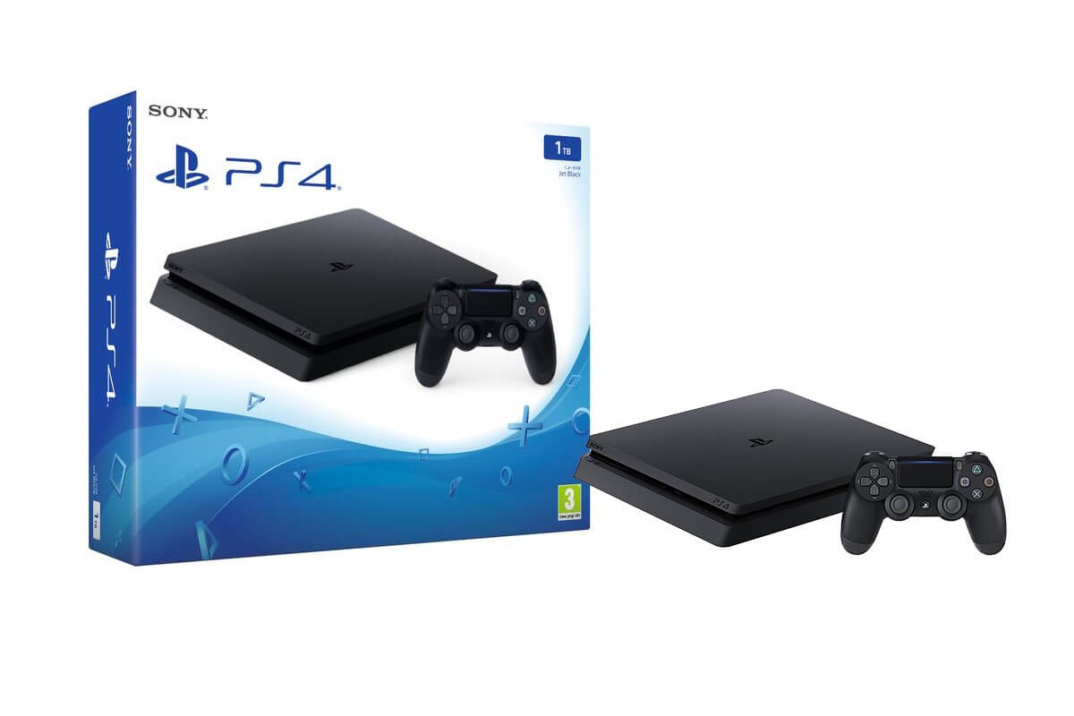 Žaidimų konsolė SONY PlayStation 4 (PS4) Slim 500GB (juoda)