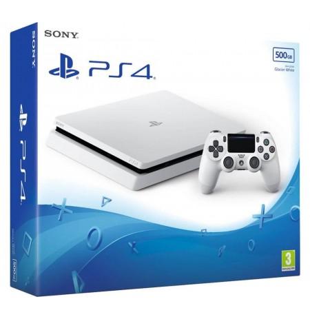 Žaidimų kompiuteris SONY PlayStation 4 (PS4) Slim 500GB - Baltas