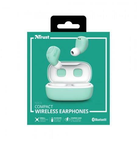 TRUST Nika žalios belaidės ausinės (Bluetooth)