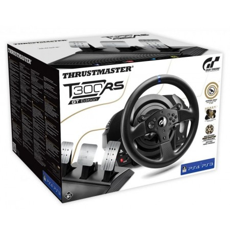 Thrustmaster T300 RS vairas + T3PA pedalai GT Edition | PS3, PS4,  PS5, PC