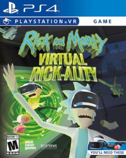 Rick & Morty: Virtual Rick-ality VR