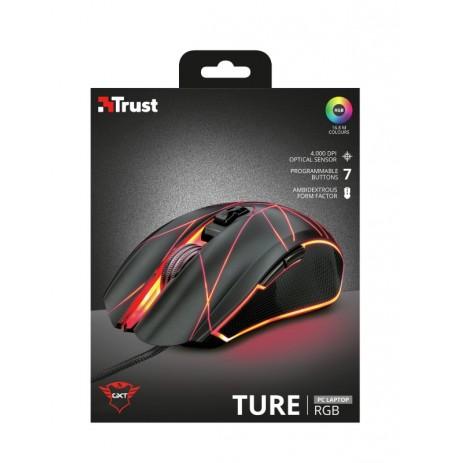 TRUST GXT 160 Ture RGB laidinė pelė | 4000 DPI