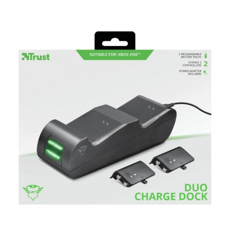 TRUST GXT 247 Duo Charging Dock rinkinys skirtas Xbox One