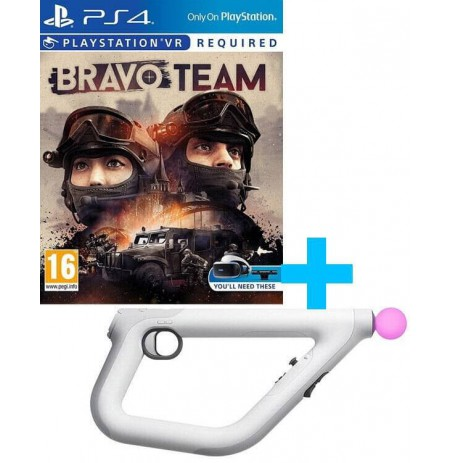 Bravo Team + Sony PlayStation VR Aim Controller