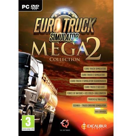 Euro Truck Simulator Mega Collection 2 (Pažeista pakuotė)
