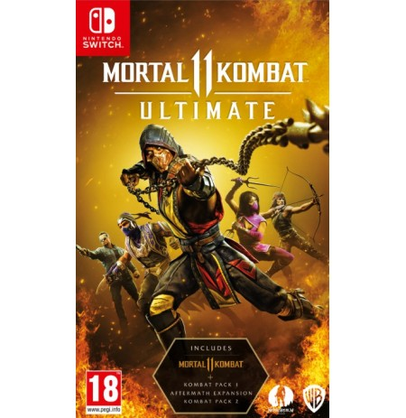 Mortal Kombat 11 Ultimate (Pažeista pakuotė)