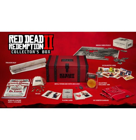 The Red Dead Redemption 2: Collectors Box