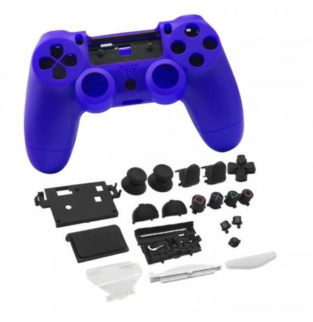 Dualshock 4 valdiklio korpusas ir mygtukai (mėlyna)